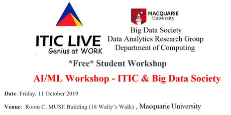 AI/ML  Workshop - ITIC & Big Data Society tickets