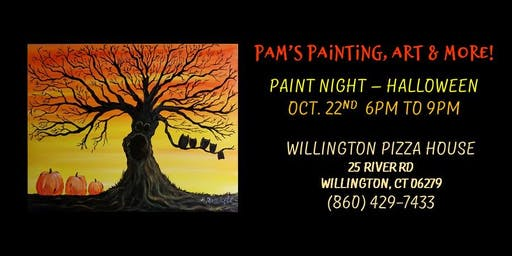 Paint Class - Halloween Night