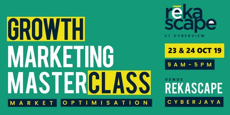 Growth Marketing - Market Optimisation (powered by RekaScape) tickets