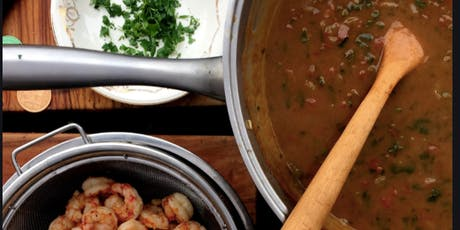 SUNDAY SUPPER : LEARN TO MAKE SHRIMP ETOUFFEE' tickets