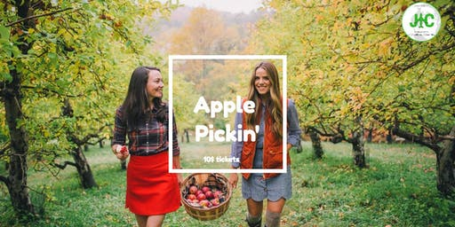 Apple pickin' and snackin'