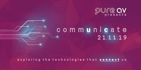commUniCate  - Workplace Technology Showcase tickets