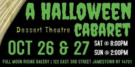 A Halloween Cabaret tickets