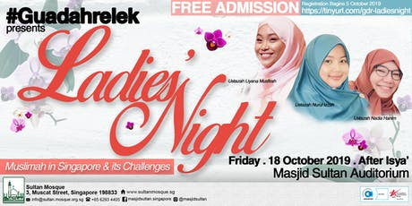 #Guadahrelek: Ladies Night tickets