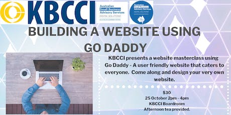 Building a website using Go Daddy tickets