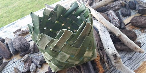 Yarra Fibresmithing - NZ flax box basket