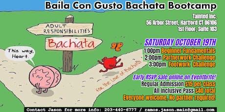 Baila Con Gusto Bachata Bootcamp tickets
