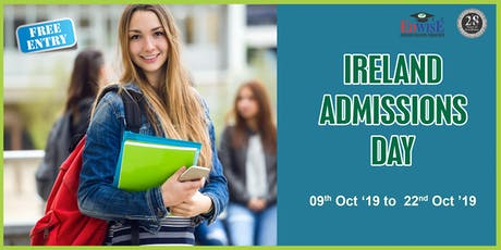 Ireland Admissions Day in Chennai tickets