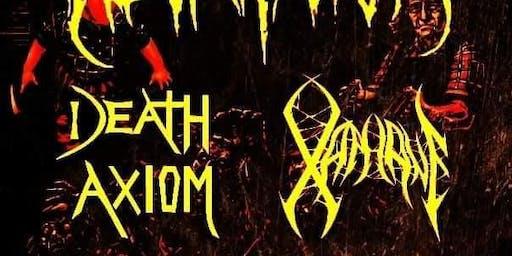 NECROTICISM AVDM/XAPHANE/DEATH AXIOM /DEATHSWORN 9/27