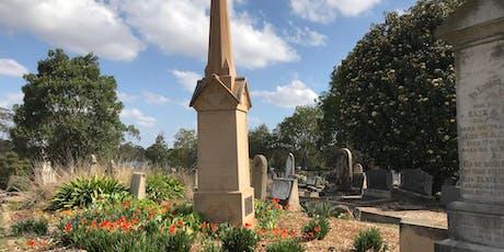 Meet the Ancestors - Guided Tour of Parramatta's Cemeteries  tickets
