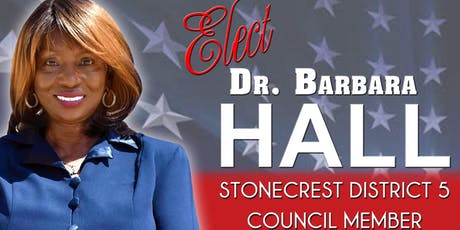 Elect Barbara Hall Stonecrest District 5 tickets