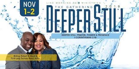 Deeper Still - Prayer & Intercession Academy tickets