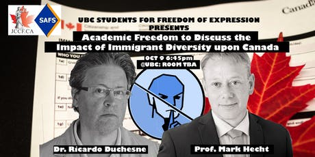 Academic Freedom to Discuss the Impact of Immigrant Diversity upon Canada tickets