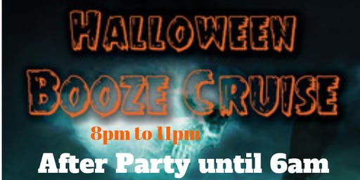 Halloween Booze Cruise & After Party in Atlantic City - Saturday Oct. 26th