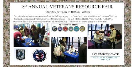 2019 Veterans Resource Fair tickets