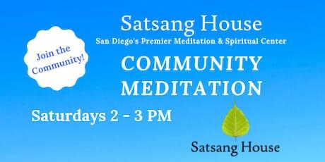 Community Meditation tickets