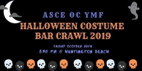ASCE OC YMF Halloween Costume Bar Crawl 2019 tickets