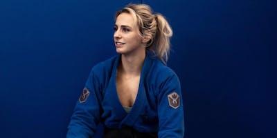 Ffion Davies jiu jitsu seminar
