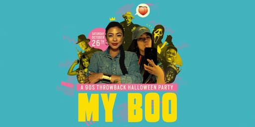 MY BOO! A 90s Throwback Halloween Party