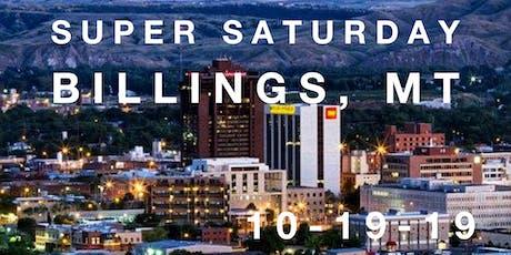 Isagenix Super Saturday Billings  tickets