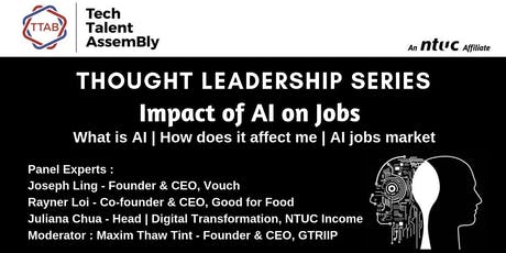 Impact of AI on Jobs tickets