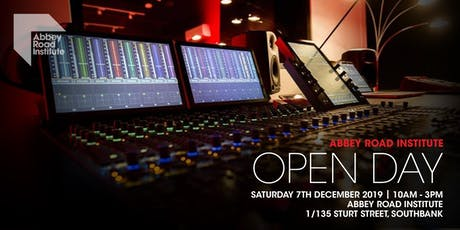 Music Production Open Day tickets