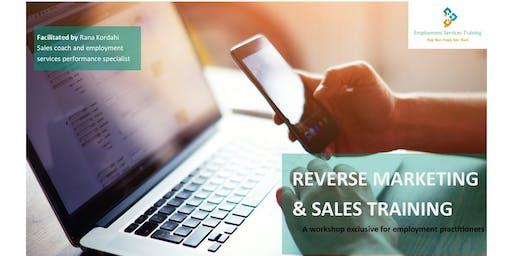 Reverse Marketing & Sales - Melbourne 2019