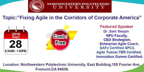 Northwestern polytechnic university Event in Fremont-Sept 28th,2019 tickets