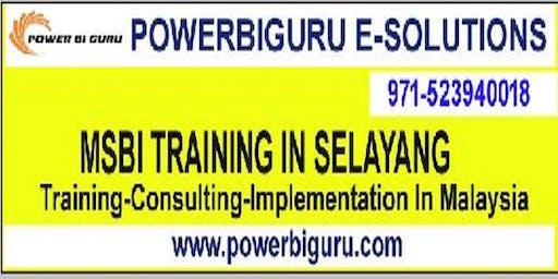 Microsoft MSBI (SSIS,SSAS,SSRS) training in SELAYANG