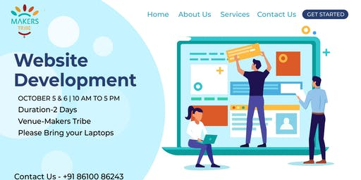 2 Days Workshop on Building Your First Website