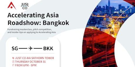 Accelerating Asia Roadshow in Bangkok tickets