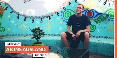 Ab ins Ausland: Infoevent zu sozialen Projekten im Ausland   Bielefeld
