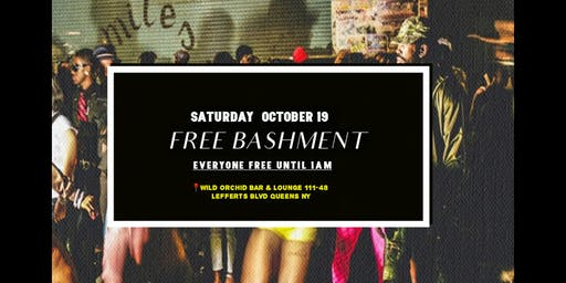 FREE BASHMENT PARTY