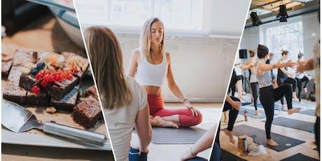 Yoga Brunch Vienna[+Meditation]-  es ist WEIHNACHTEN 22.12.2019 Tickets
