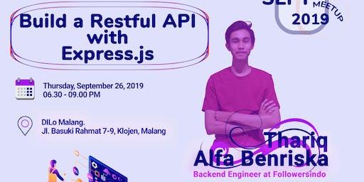 Sept 2019 Meetup