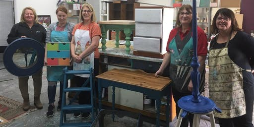 October  Chalk Painting Furniture Workshop
