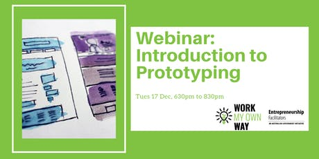 Introduction to Prototyping (Webinar) tickets