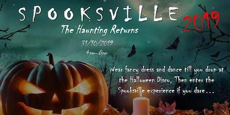 Spooksville 2019 tickets