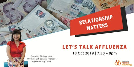 Relationship Matters: Let's Talk Affluenza tickets