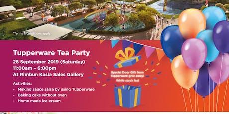 Tupperware Tea Party tickets