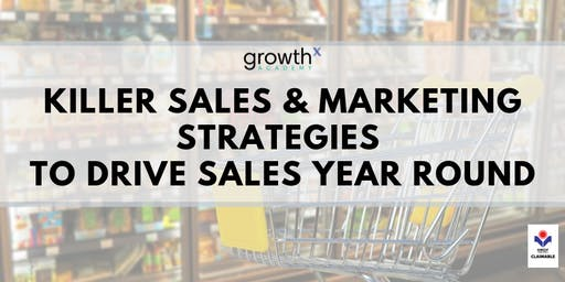 Killer Sales and Marketing Strategies to Drive Sales Year Round