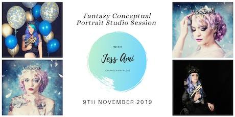 Fantasy Conceptual Portrait Studio - PM Session tickets