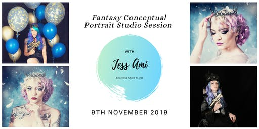 Fantasy Conceptual Portrait Studio - PM Session