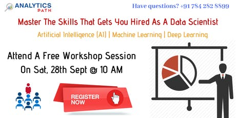 Attend Free Data Science Workshop By Analytics Path On 28th September 10 am tickets