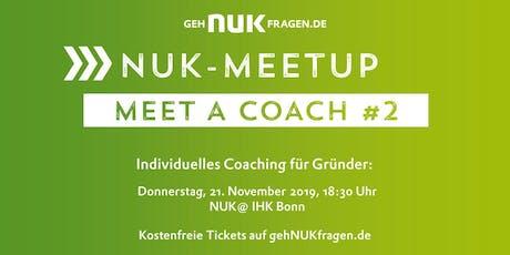 Meet a coach #2 | NUK-Meetup  Tickets