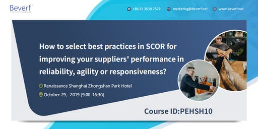 How to select best practices in SCOR