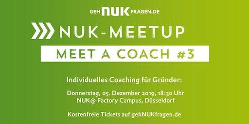 Meet a coach #3 | NUK-Meetup