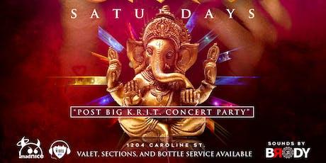 OHM SATURDAYS - POST BIG KRIT CONCERT PARTY tickets