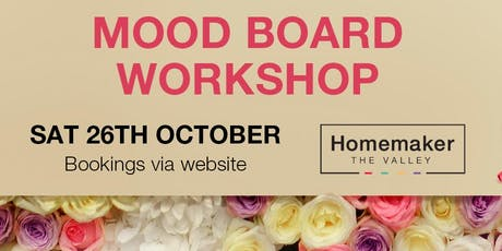 Create your style with our Moodboard Workshop! tickets