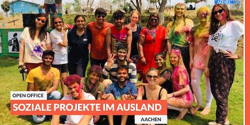 Ab ins Ausland: Open Office-Tag zu sozialen Projekten im Ausland   Aachen